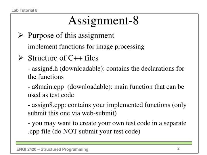 Assignment-8