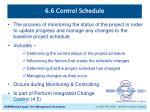 6 6 control schedule