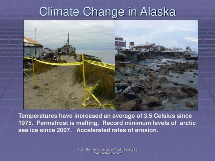 Climate Change in Alaska