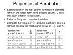 properties of parabolas5