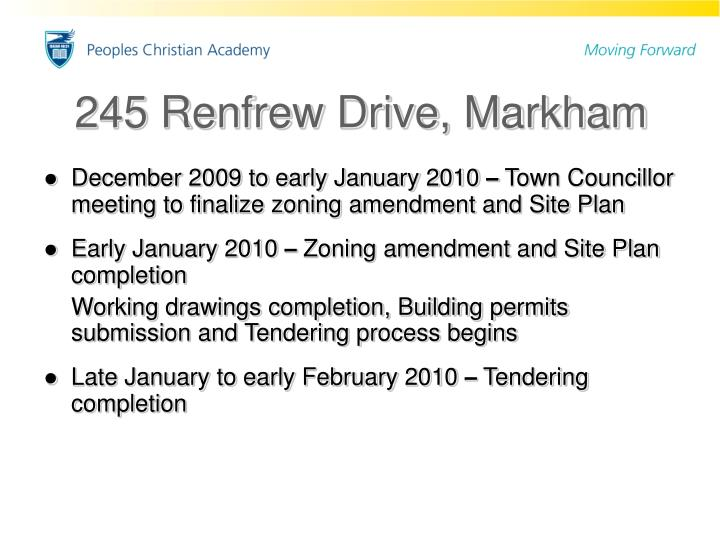 245 Renfrew Drive, Markham