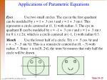 applications of parametric equations1