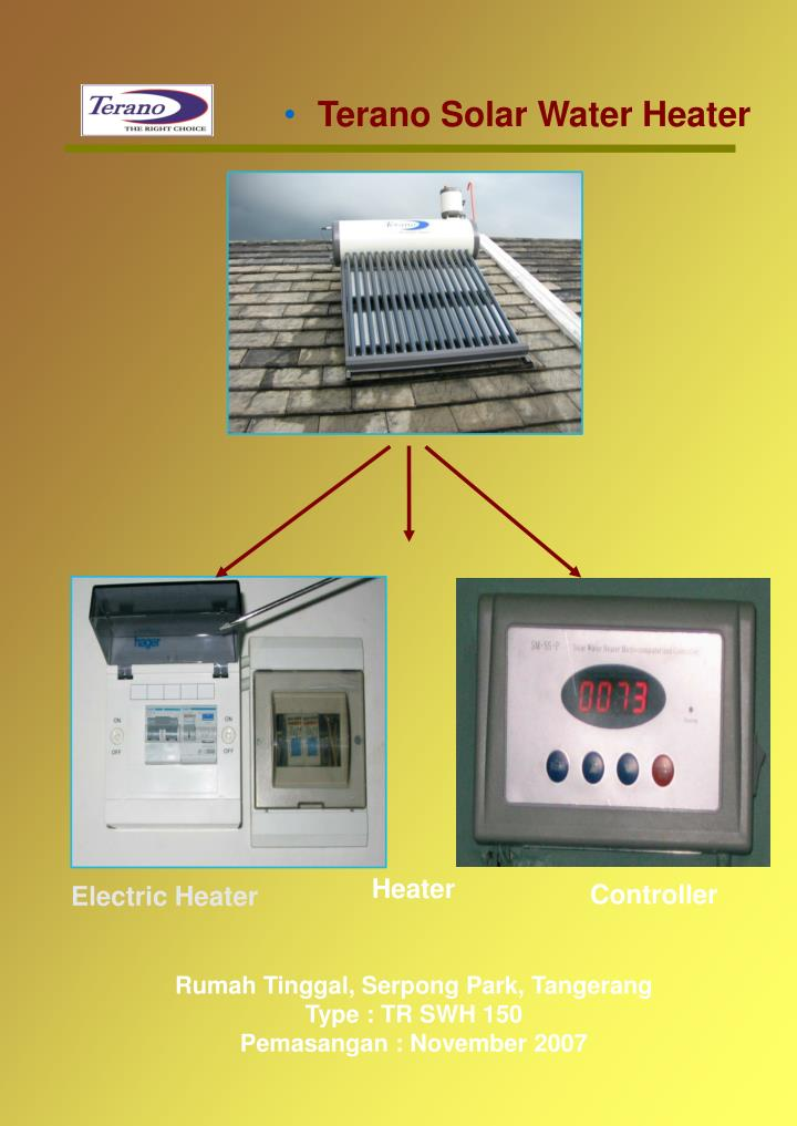 Terano Solar Water Heater