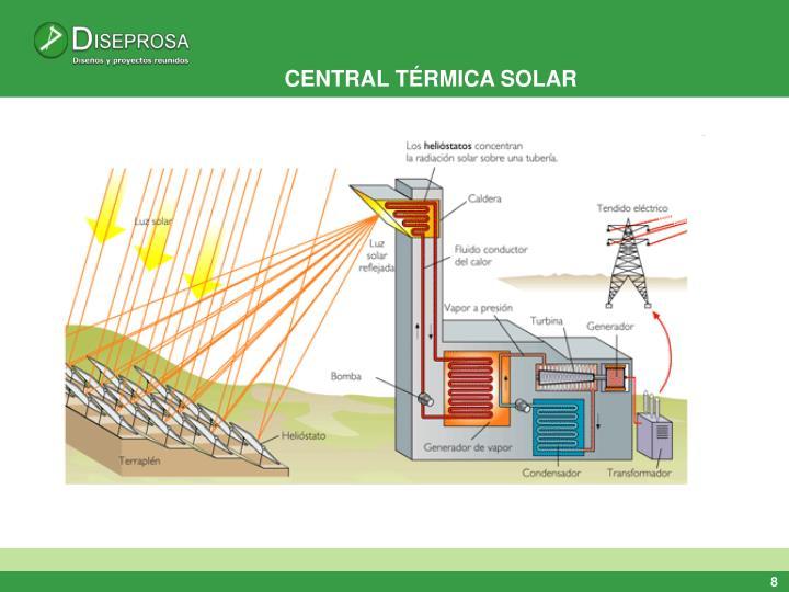 CENTRAL TÉRMICA SOLAR