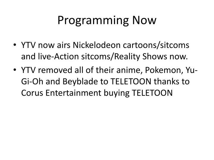 Programming Now