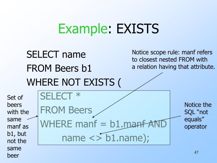 Notice scope rule: manf refers