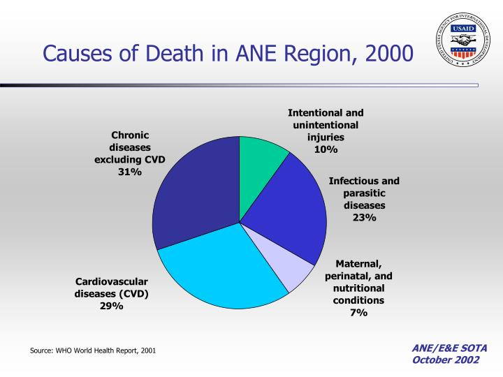 Causes of Death in ANE Region, 2000