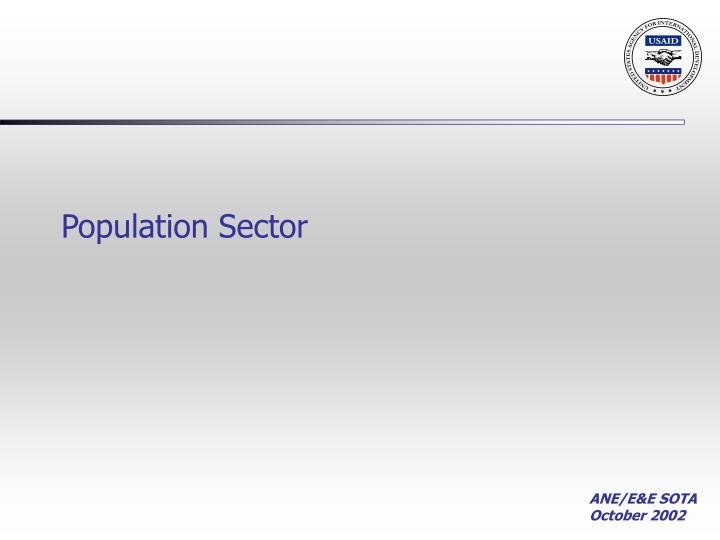 Population Sector