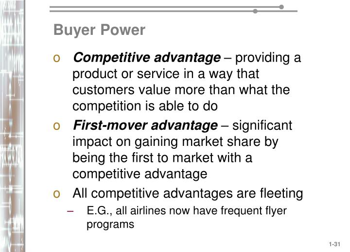 Buyer Power