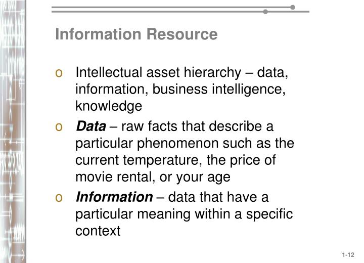 Information Resource