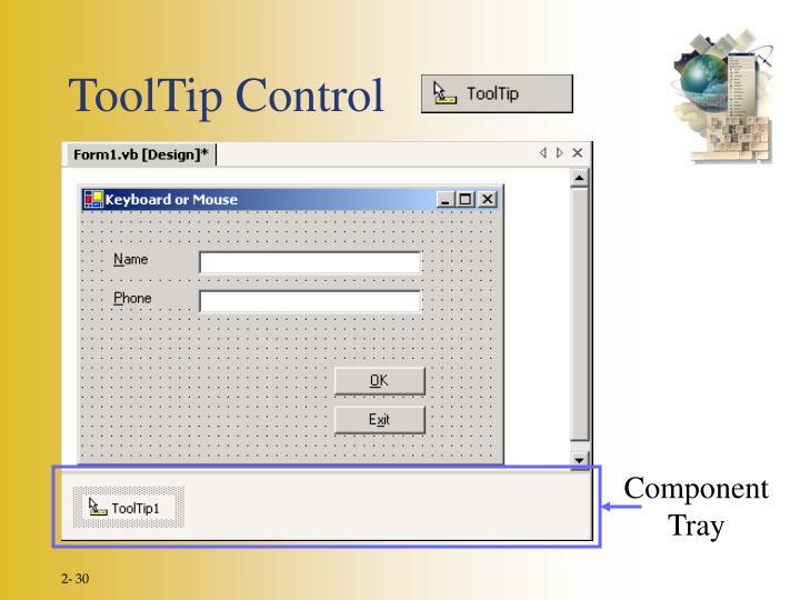 ToolTip Control