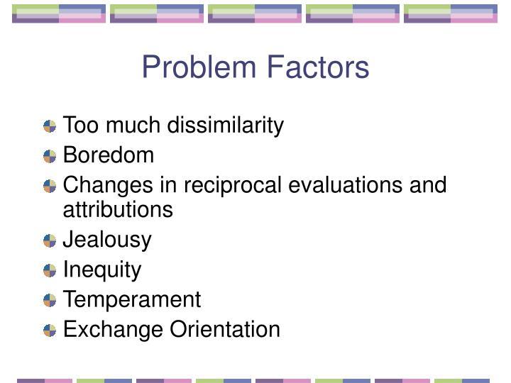 Problem Factors