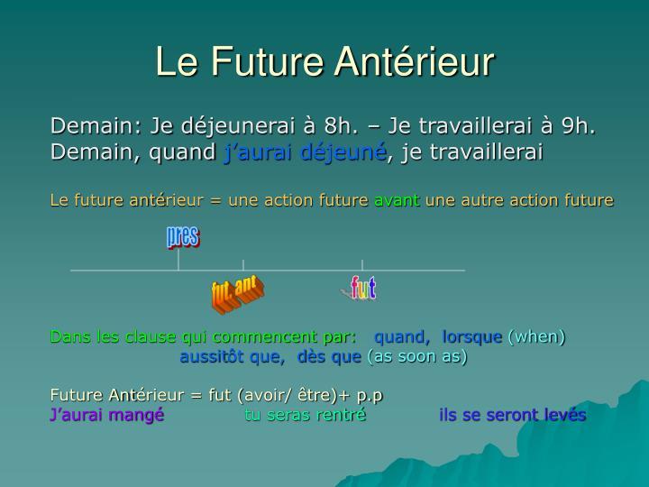 Le Future Ant