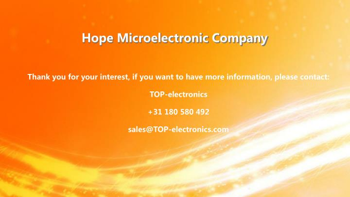 Hope Microelectronic Company