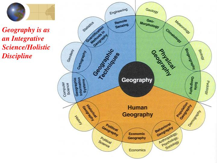 Geography is as an integrative science holistic discipline