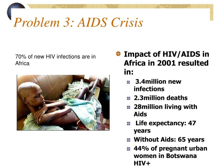 70% of new HIV infections are in Africa