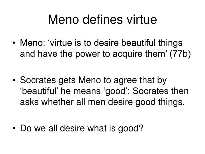 meno epistemology and socrates essay