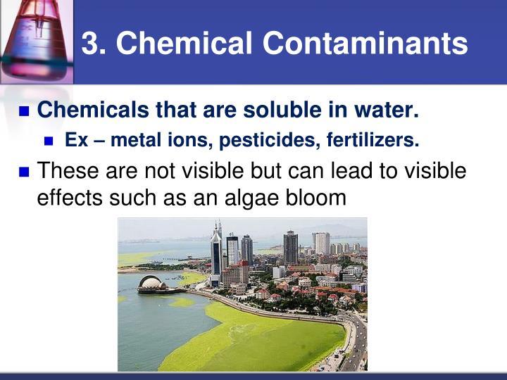 3. Chemical Contaminants