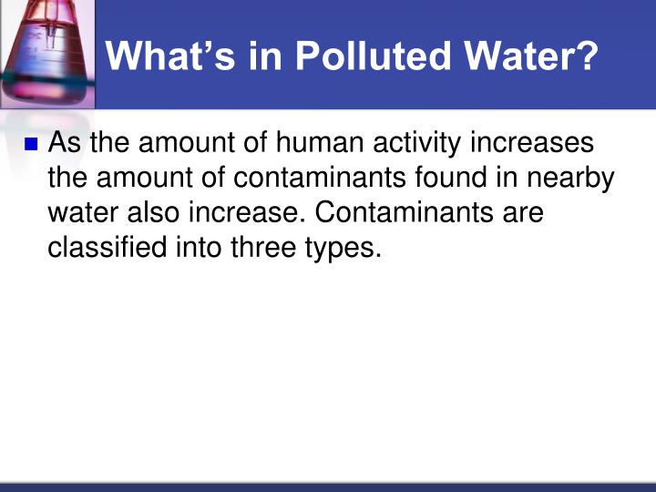 Whats in Polluted Water?