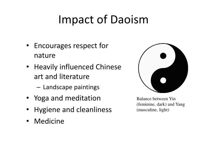 Impact of Daoism