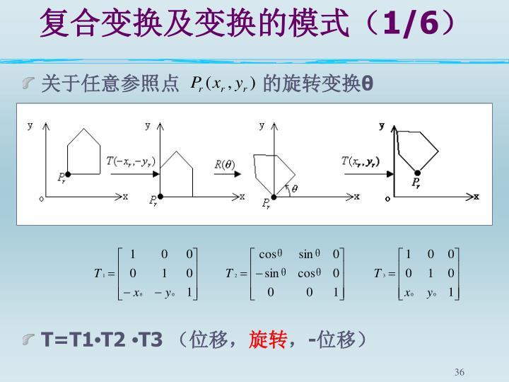 复合变换及变换的模式(