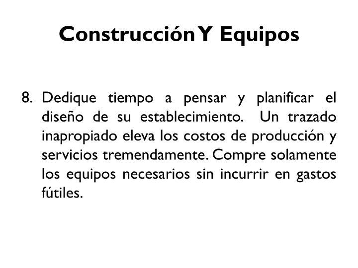 Construcción Y Equipos