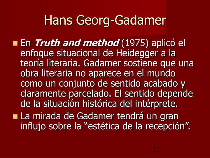 Hans Georg-Gadamer