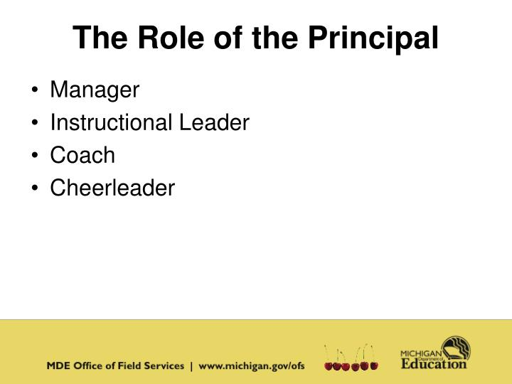 The Role of the Principal