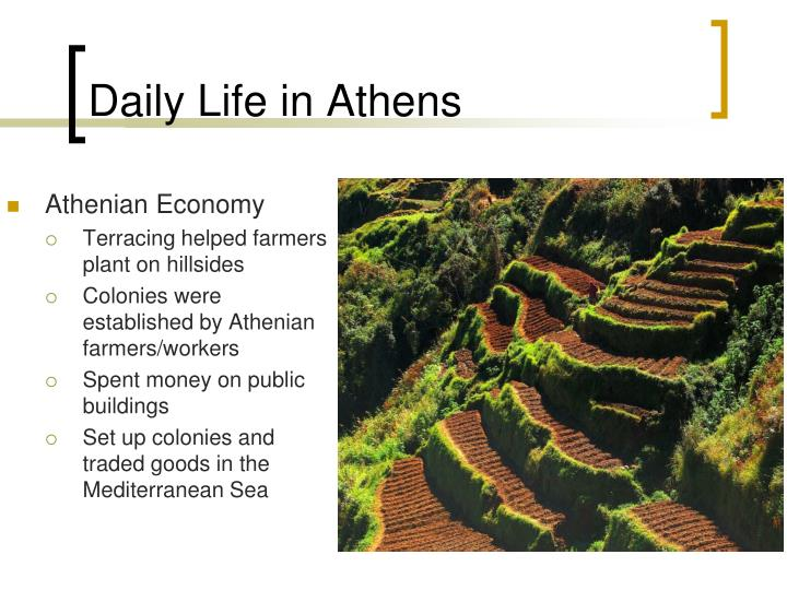 Daily Life in Athens