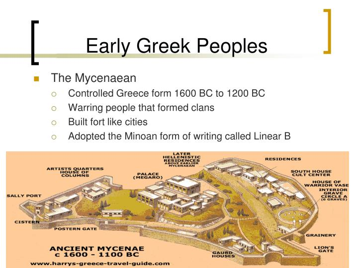 Early Greek Peoples