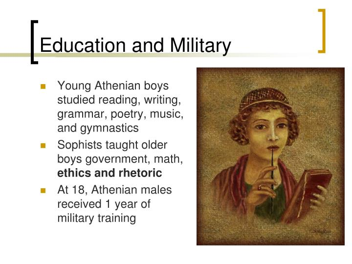 Education and Military