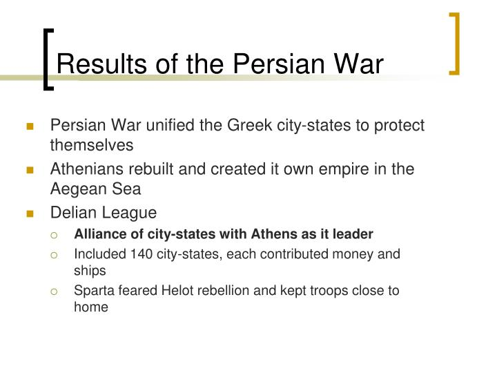 Results of the Persian War