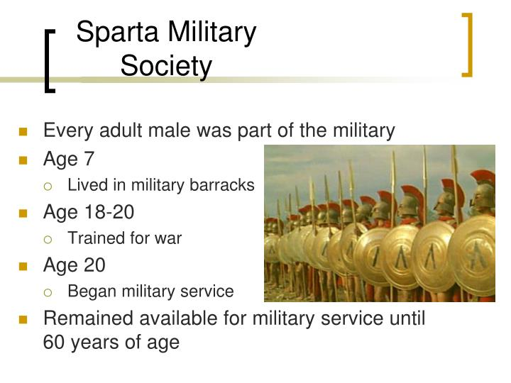 Sparta Military Society