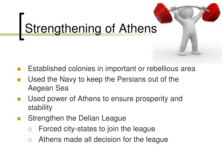 Strengthening of Athens