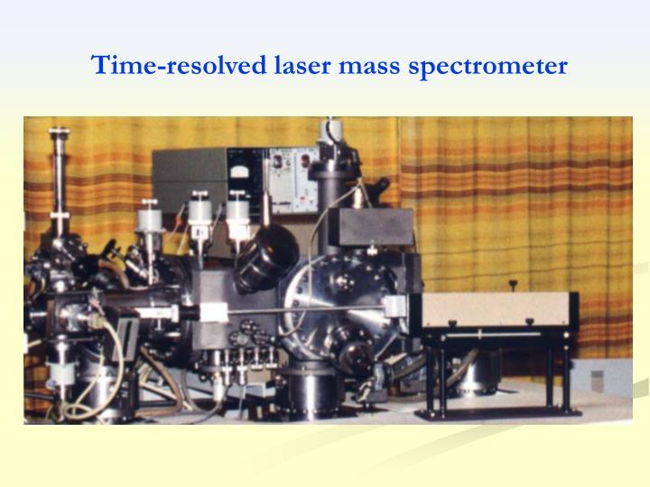 Time-resolved laser mass spectrometer