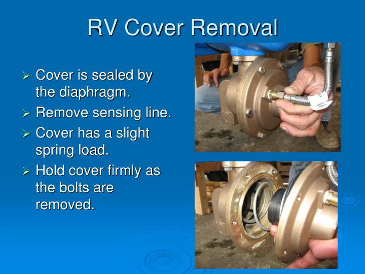 RV Cover Removal