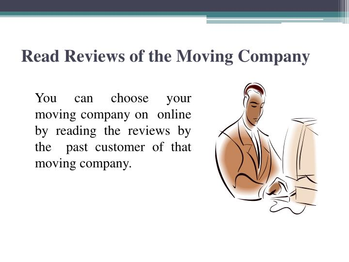 Read Reviews of the Moving