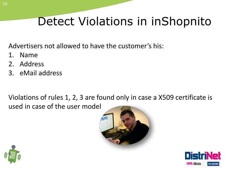 Detect Violations in