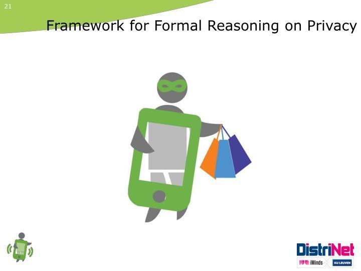 Framework for Formal Reasoning
