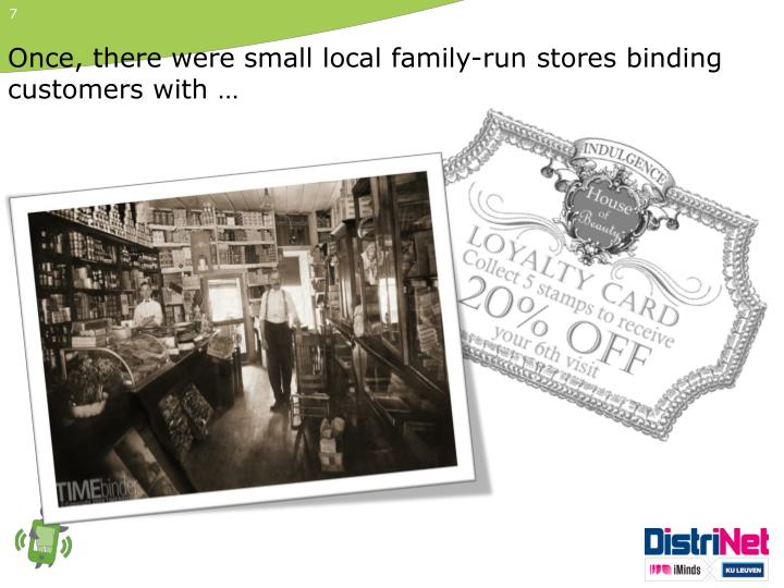Once, there were small local family-run stores binding customers with …