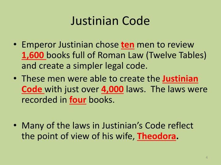 Justinian Code Laws List Information – Justinian Code Worksheet