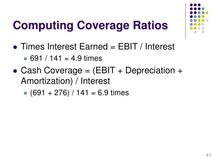 Computing Coverage Ratios