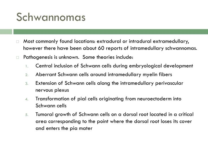 Schwannomas