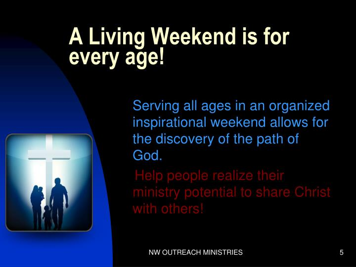 A Living Weekend is for every age!