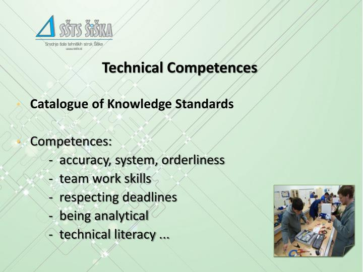 Technical Competences