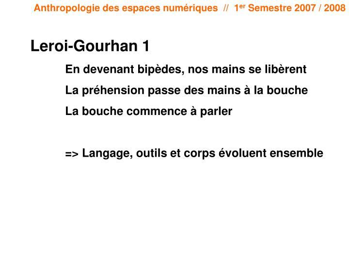 Leroi-Gourhan 1