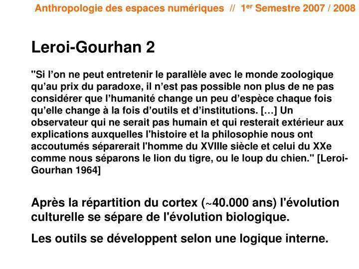 Leroi-Gourhan 2