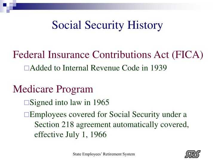 Social security history1