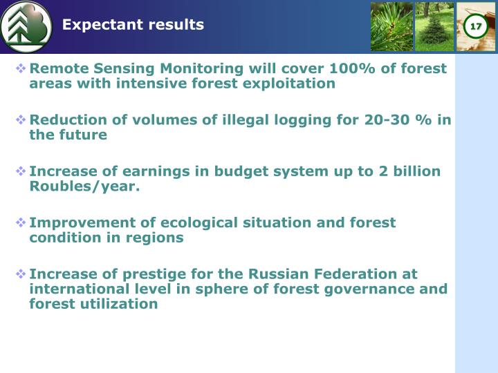 Remote Sensing Monitoring will cover