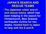 japan s search and rescue teams